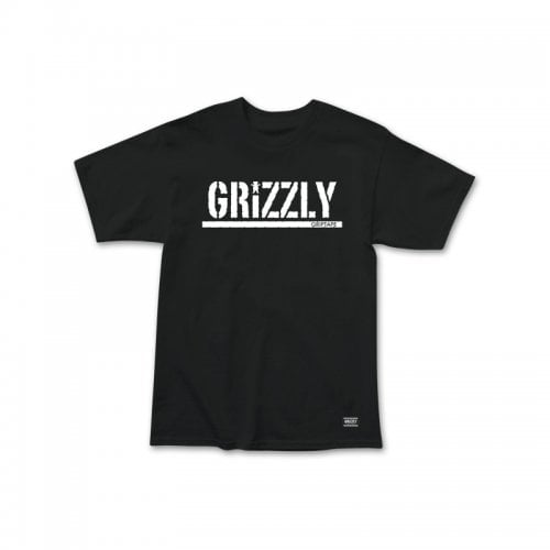 Camiseta Grizzly: Stamp SS Tee BK