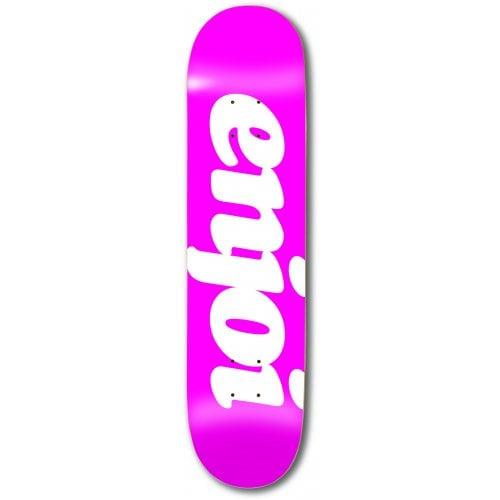 Tabla Enjoi: Flocked HYB Pink 8.0x31.6