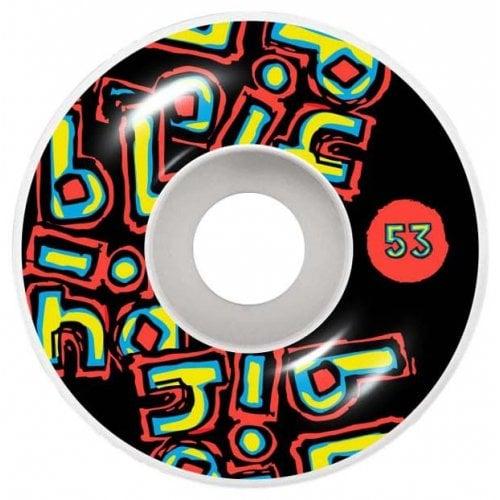Ruedas Blind: OG Stacked Black (53mm) 99A