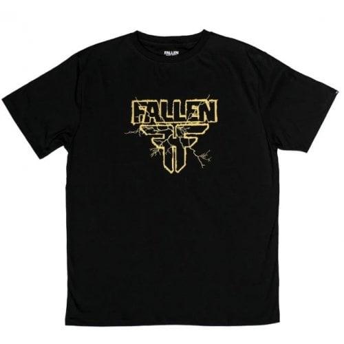 Camiseta Fallen: Electric Black/Yellow