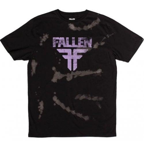 Camiseta Fallen: Acid Black/Brown