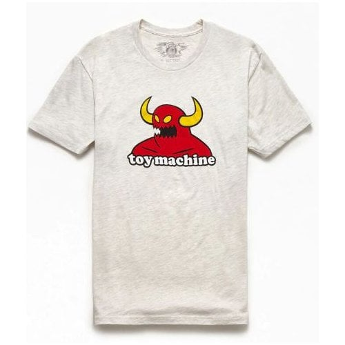 Camiseta Toy Machine: Monster Heather Grey