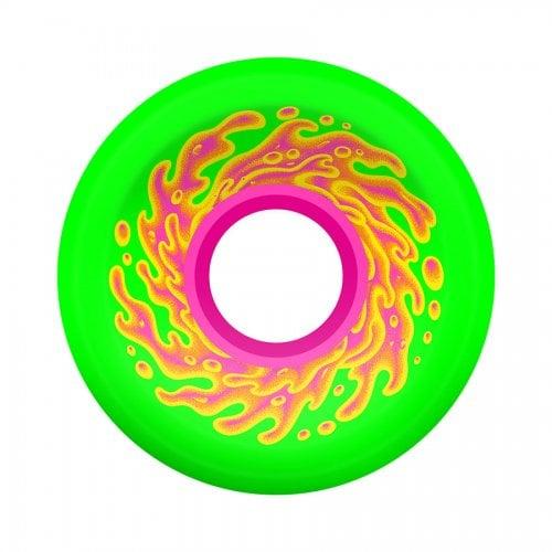 Ruedas Santa Cruz: Mini OG Slime Green Pink 78A (54.5mm)