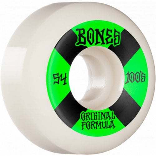 Ruedas Bones: 100's #4 V5 100A OGF White (54 mm)