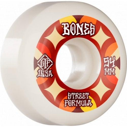 Ruedas Bones: Retros V5 Sidecut STF 103A (54mm)