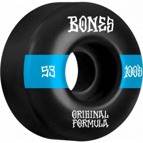Ruedas Bones: 100's #14 V4 100A OGF Black (53 mm)