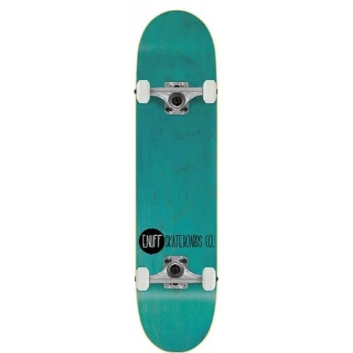 Skate Completo Enuff: Logo Stain Teal 8.0x32