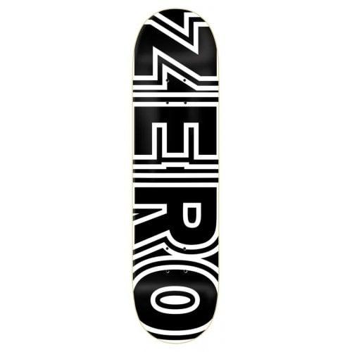 Tabla Zero: Bold Black 8.25x31.9
