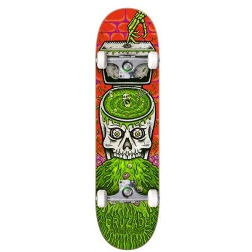 Skate Completo Cruzade: Skull Swirl 8.0x31.85