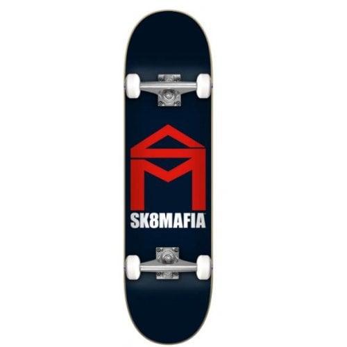 Skate Completo SK8 Mafia: House Logo Navy 7.87x31.6