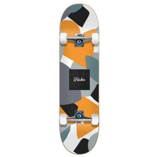 Skate Completo Tricks: Camo 7.75x31.60