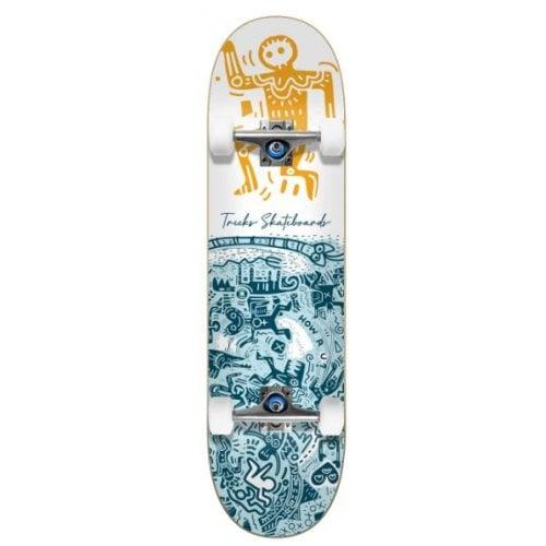 Skate Completo Tricks: Tribal 7.75x31.60