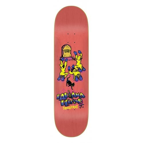 Tabla Santa Cruz Skateboards: Delfino Ego 8.25x31.83