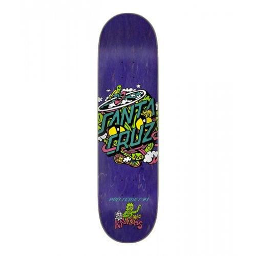Tabla Santa Cruz Skateboards: Knibbs Reptililan Dot 8.27x31.83