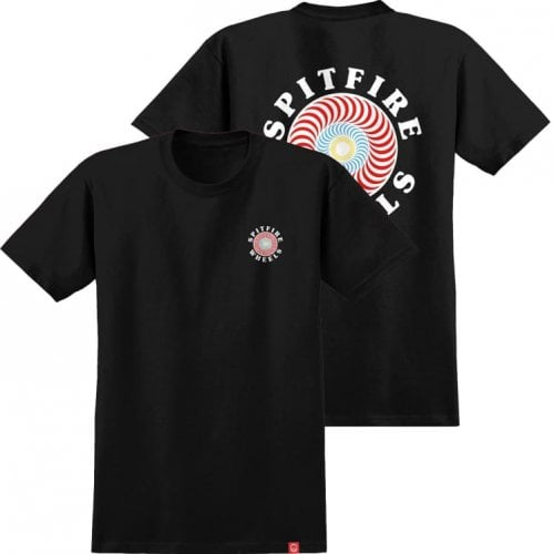 Camiseta Spitfire: OG Classic Fill Black