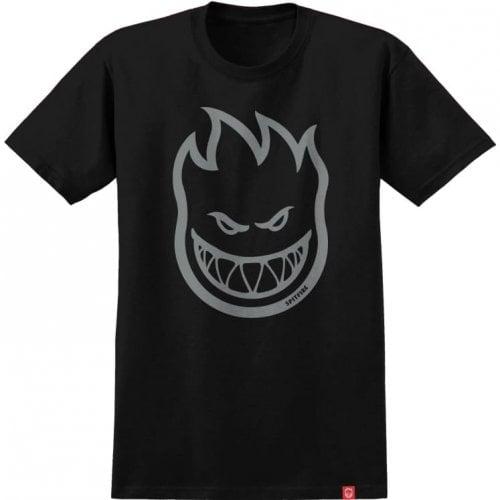 Camiseta Spitfire: Bighead SS Black/Metallic