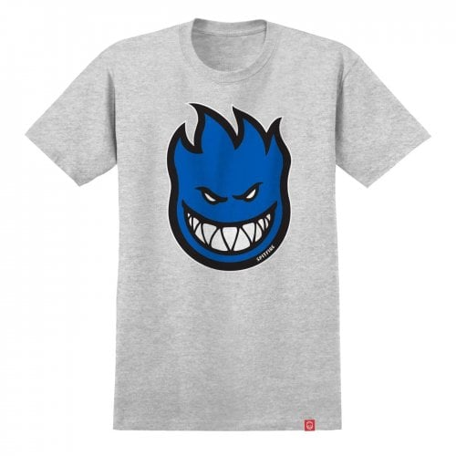 Camiseta Spitfire: Bighead Fill S/S HTR/BLUE