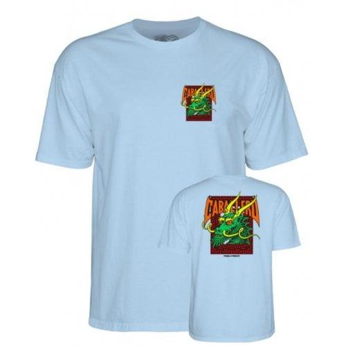 Camiseta Powell: Caballero Street Dragon PW Blue
