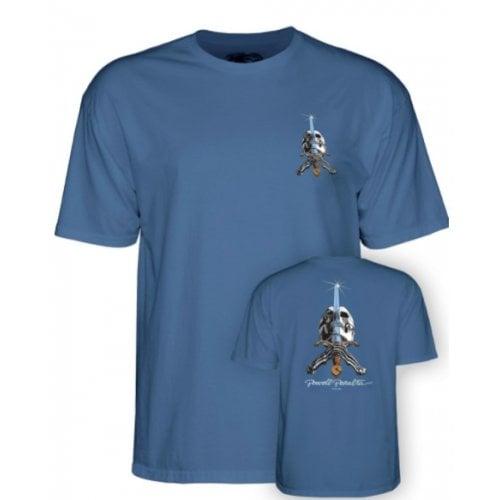 Camiseta Powell Peralta: Skull & Sword Slate Blue