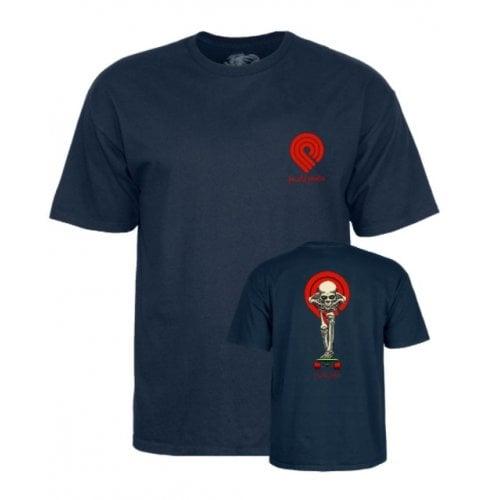 Camiseta Powell Peralta: Tucking Skeleton Navy