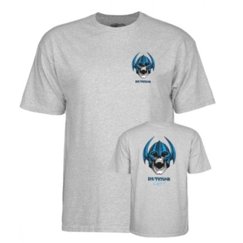 Camiseta Powell Peralta: Welinder Nordic Skull Heather Grey