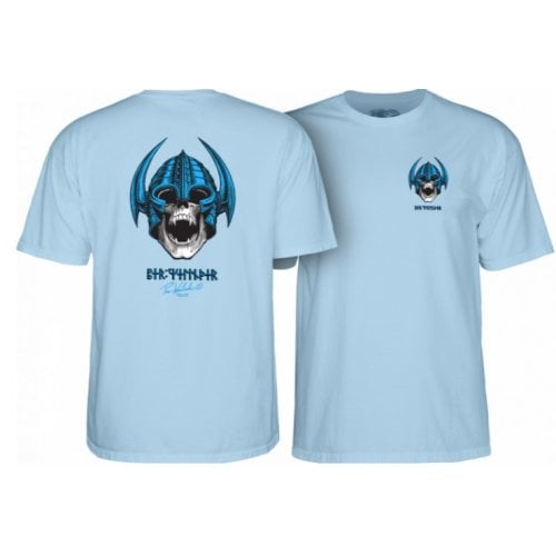 Camiseta Powell Peralta: Welinder Nordic Skull Powder Blue