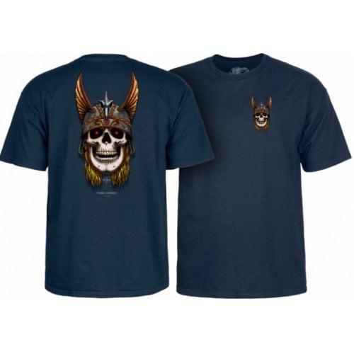 Camiseta Powell Peralta: Andy Anderson Skull Navy