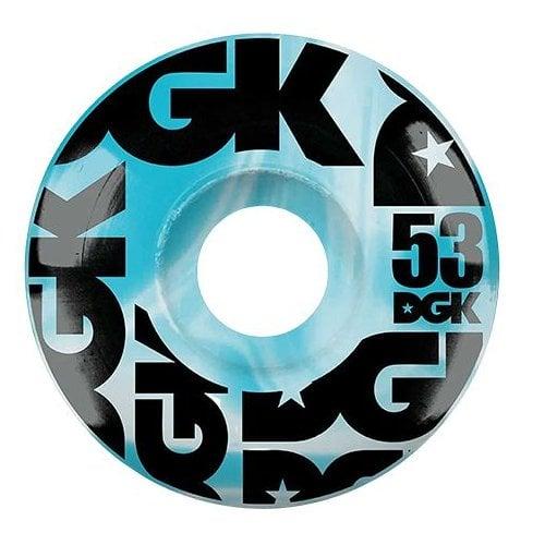 Ruedas DGK: Swirl Formula Blue 53mm (101A)