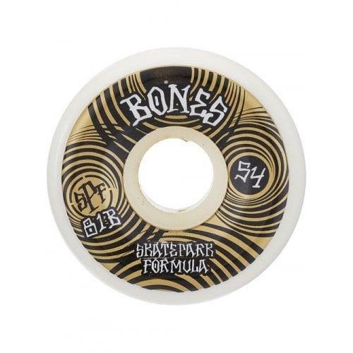 Ruedas Bones: Ripples SPF 81B Gold (54mm)