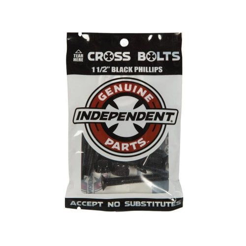 """Tornillos Independent: Genuine Parts Phillips 1.50"""" black"""