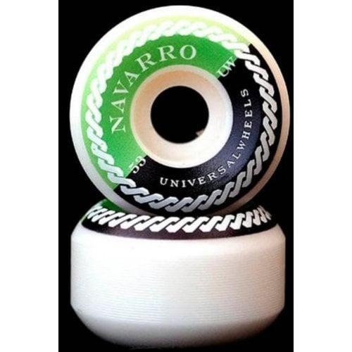 Ruedas Universal: Navarro Fluor 101A (53mm)