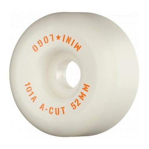Ruedas Mini-Logo Skateboards: A-Cut White (52 mm / 101A)