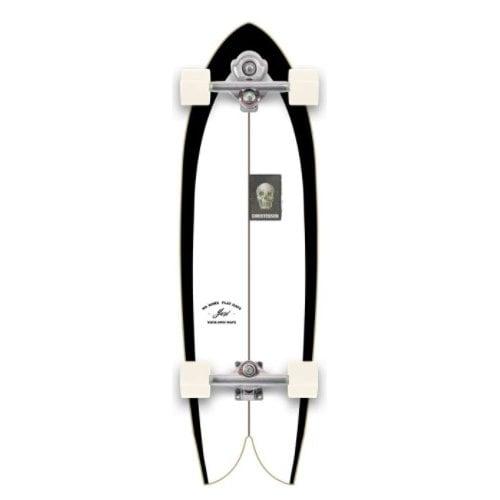 "Longboard completo Yow: C-HAWK 33"" CHRISTENSON X YOW SURFSKATE"