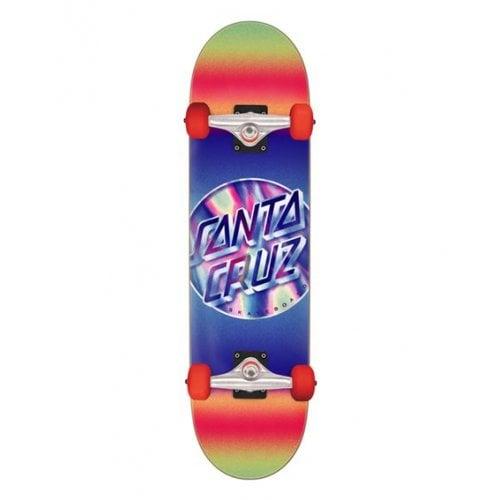 Skate Completo Santa Cruz: Iridescent Dot Large 8.25 x 31.5