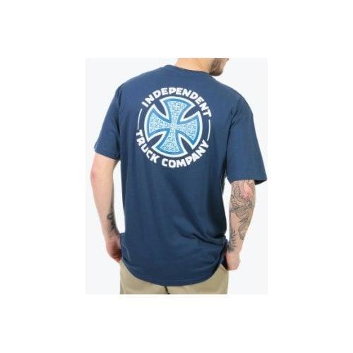 Camiseta Independent: Tee Repeat Cross NV