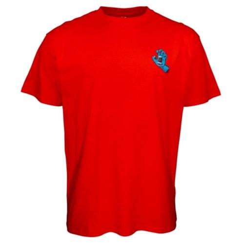 Camiseta Santa Cruz: Screaming Hand Chest Red