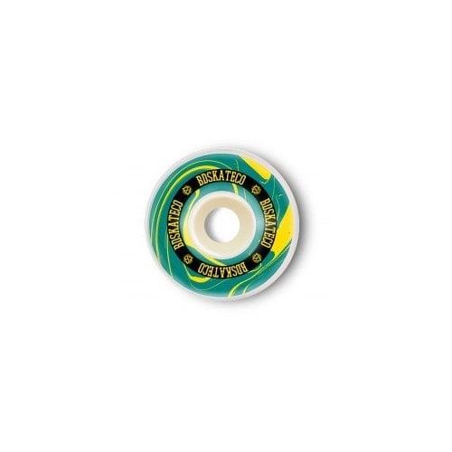 Ruedas BDSkateCO: INK Yellow/Green (54 mm)