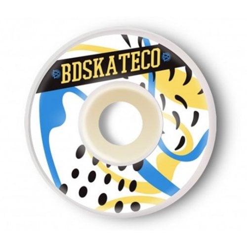 Ruedas BDSkateCO: SPLASH Yellow Blue (52 mm)