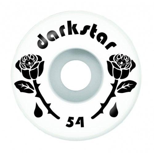 Ruedas Darkstar: Forty Black/White 99A (54mm)