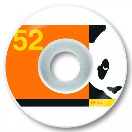 Ruedas Enjoi: Box Panda Orange 99A (52mm)