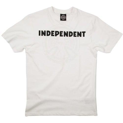Camiseta Independent: B/C WH