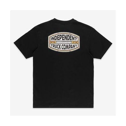 Camiseta Independent: ITC Curb BK