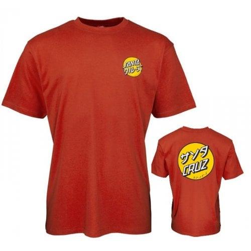 Camiseta Santa Cruz: Mixed Up Dot Ketchup RD