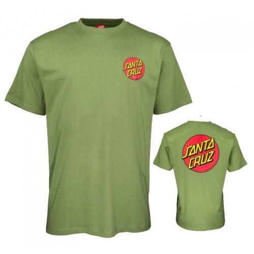 Camiseta Santa Cruz: Classic Dot Chest GN