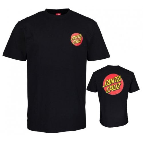 Camiseta Santa Cruz: Classic Dot Chest BK