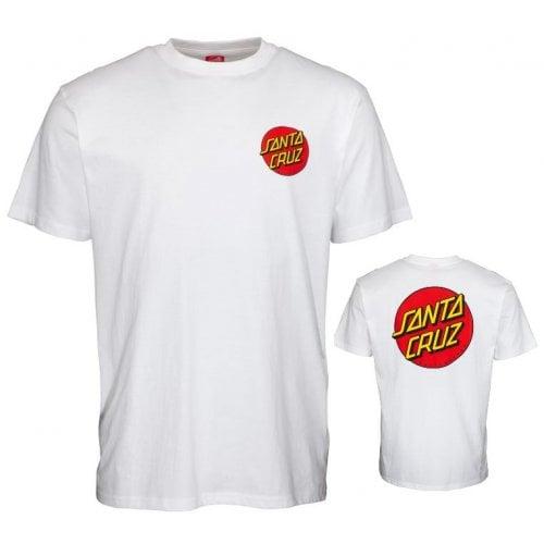 Camiseta Santa Cruz: Classic Dot Chest WH