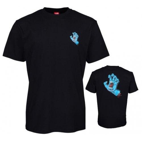 Camiseta Santa Cruz: Screaming Hand Chest BK