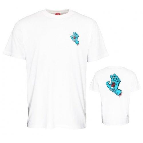 Camiseta Santa Cruz: Screaming Hand Chest WH