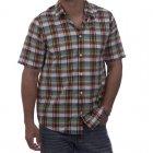Camisa Carhartt: Baxter WH/GN