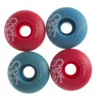 Ruedas Sweet: Twins Blue/Red (51 mm)
